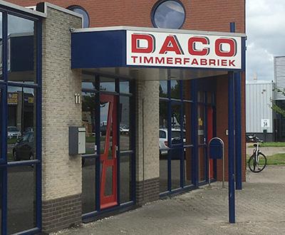 Daco voorgevel
